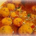 豆団子のスパイシーカレー