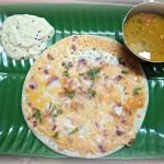 インド版パンケーキ (ウタパン)
